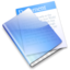 64x64px size png icon of Aqua Documents
