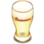 64x64px size png icon of Budweiser beer glass