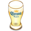 64x64px size png icon of Corona beer glass