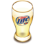 64x64px size png icon of Miller beer glass