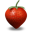 64x64px size png icon of Strawberry