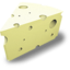 64x64px size png icon of Swiss cheese