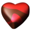 64x64px size png icon of chocolate hearts 04