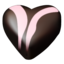 64x64px size png icon of chocolate hearts 07