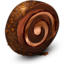 64x64px size png icon of Chocolate Cream Roll