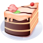 64x64px size png icon of Piece of cake