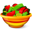 64x64px size png icon of Salad