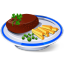 64x64px size png icon of Steak