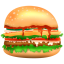 64x64px size png icon of Burger