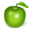 64x64px size png icon of apple green