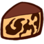 64x64px size png icon of Gateau marbre