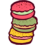 64x64px size png icon of Macarons