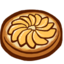 64x64px size png icon of Tarte aux pommes