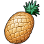 64x64px size png icon of Ananas