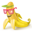 64x64px size png icon of Banana
