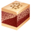 64x64px size png icon of nuts cake
