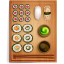 64x64px size png icon of sushi 2
