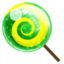 64x64px size png icon of Candy green