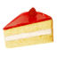64x64px size png icon of strawberry cake