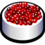64x64px size png icon of cranberry sauce