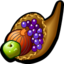 64x64px size png icon of horn of plenty