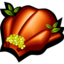 64x64px size png icon of roast turkey
