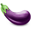 64x64px size png icon of Eggplant