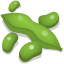 64x64px size png icon of soybeans