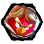 64x64px size png icon of Angry Birds Star Wars 1