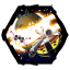64x64px size png icon of Angry Birds Star Wars 3