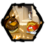 64x64px size png icon of Angry Birds Star Wars 5