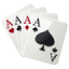 64x64px size png icon of 4 aces
