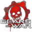 64x64px size png icon of Gears of War Skull