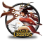 64x64px size png icon of Akali Blood Moon