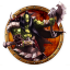 64x64px size png icon of wow orc