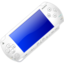 64x64px size png icon of White Playstation Portable