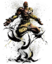 64x64px size png icon of Dhalsim