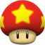 64x64px size png icon of life mushroom