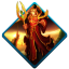 64x64px size png icon of wow blood elf