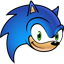 64x64px size png icon of Sonic