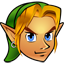 64x64px size png icon of Zelda