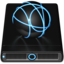 64x64px size png icon of Blue iDisk