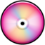 64x64px size png icon of CD Colored Pink