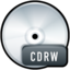 64x64px size png icon of File CDRW
