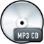 64x64px size png icon of File MP3 CD