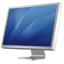 64x64px size png icon of Cinema Display Diagonal blue