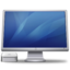 64x64px size png icon of Cinema Display Macmini blue