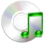 64x64px size png icon of cdaudio mount