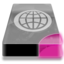 64x64px size png icon of Drive 3 pp network webdav