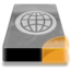 64x64px size png icon of Drive 3 uo network webdav